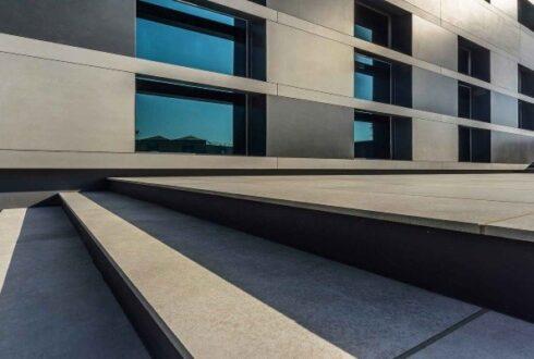 ساختمان هایی با نمای سرامیک ، شهر را رویایی جلوه می دهند