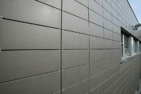 نمای خشک ، مدرن، زیبا و بهینه برای ساختمان