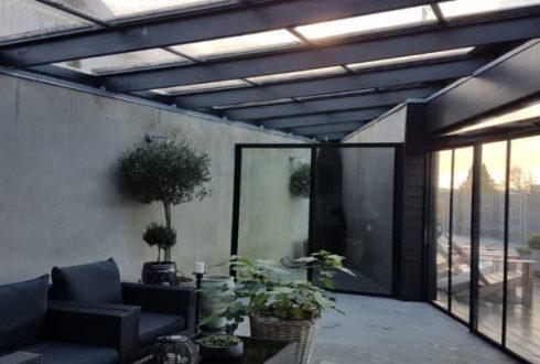 زیبایی ماورایی با سقف شیشه ای متحرک