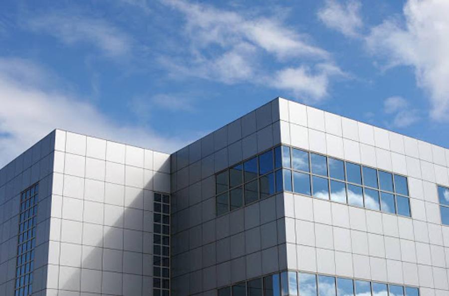 سیستم نمای خشک - سیتم نمای کرتین وال - نمای خشک- سیستم نمای ساختمان