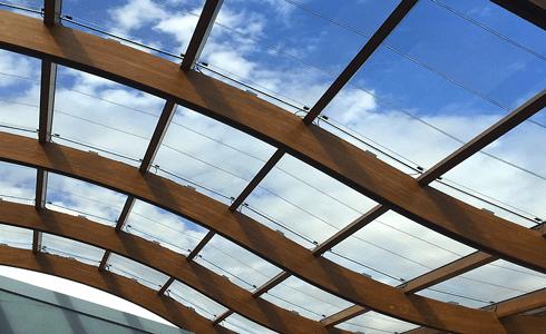 انواع سقف شیشه ای اسکای لایت Sky Light