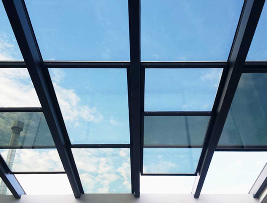 سقف شیشه ای برقی