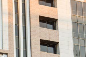 سیستم نمای خشک - سرامیک خشک پرسلانی