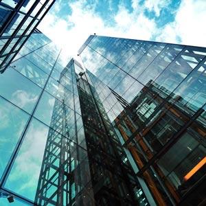 کرتین وال نمای شیشه ای کرتین وال - سیستم کرتین وال مدرن