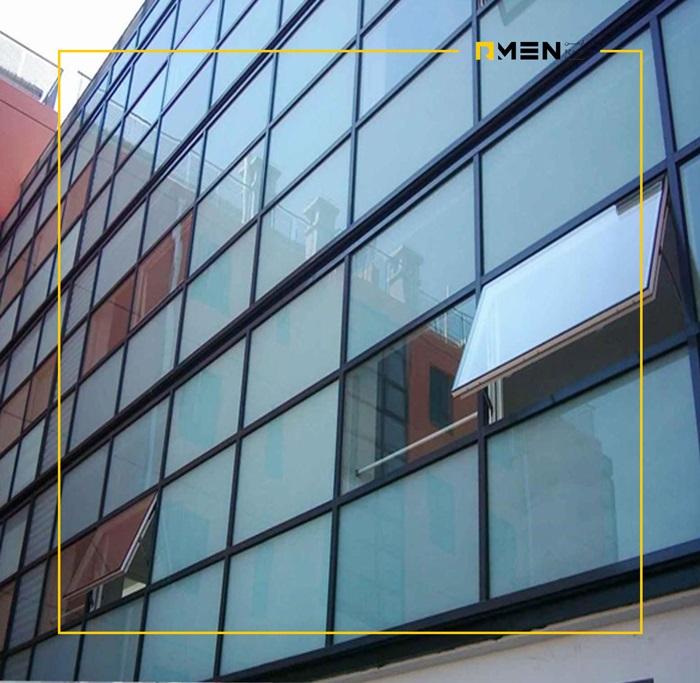نمای کرتین وال - نمای کرتین وال -کرتین وال لامل یا استیک در اجرای نمای شیشه ای ساختمان - نمای کرتین وال