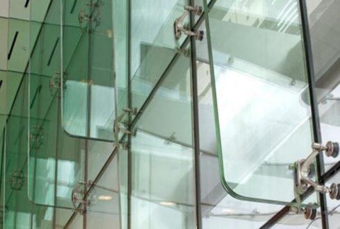 نمای اسپایدر شیشه ای - سیستم نمای اسپایدر