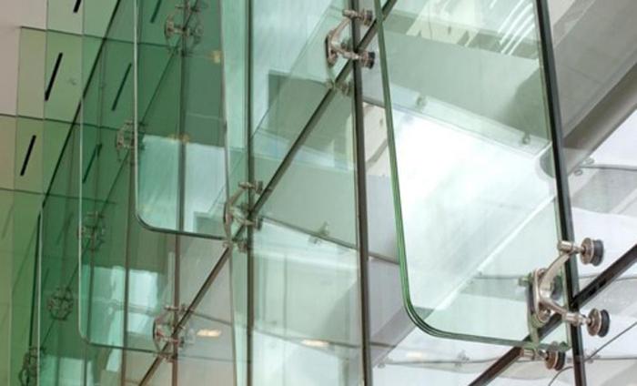 نمای اسپایدر شیشه ای - سیستم نمای اسپایدر - سیستم نمای اسپایدر