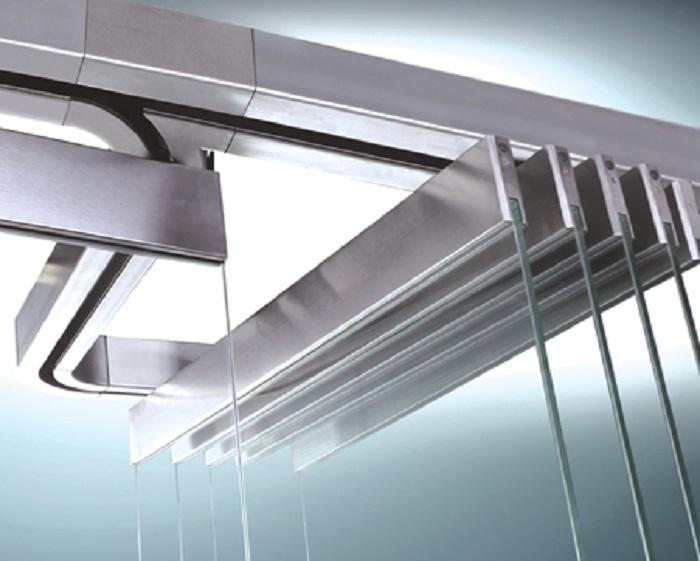 نمای کرتین وال شیشه ای فریم لس - سیستم نمای کرتین وال