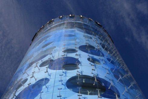 اجرای نمای ساختمان کامپوزیت مدرن