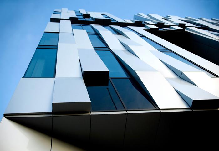 اجرای نمای کامپوزیت ساختمان - aluminum composite panel