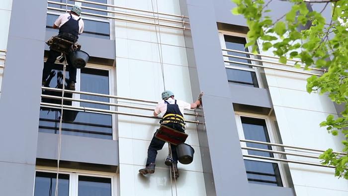 اجرای نمای کامپوزیت ساختمان