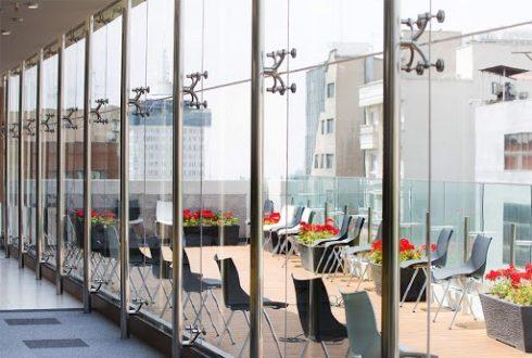 انواع روش اجرای نمای شیشه ای اسپایدر