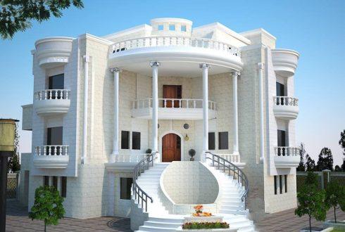 انتخاب بهترین مصالح برای نما ساختمان مسکونی