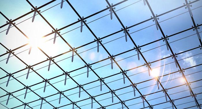 نمای اسپایدر - سیستم نمای ساختمان