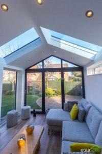 سقف شیشه ای ویلا - اسکای لایت