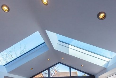 با طراحی سقف شیشه ای ویلا ، طبیعت داشته باشید
