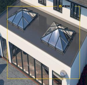 نورگیر سقفی - اسکای لایت - سیستم نمای اسکای لایت