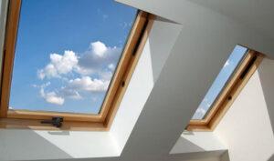 سقف شیشه ای ویلا - نمای اسکای لایت - سیستم نمای اسکای لایت - سقف شیشه ای - نورگیر سقفی