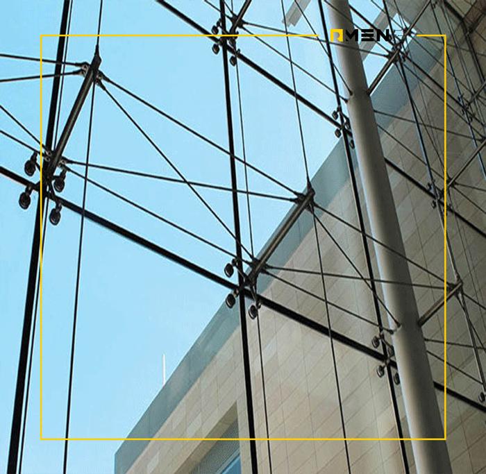 سیستم نمای اسپایدر - نمای اسپایدر - نمای اسپایدر - نمای شیشه ای