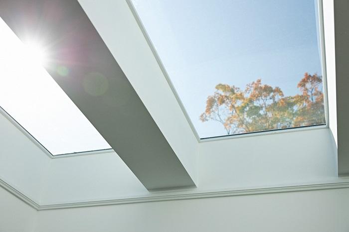 سقف شیشه ای آشپزخانه-نمای سقف شیشه ای - Glass kitchen ceiling