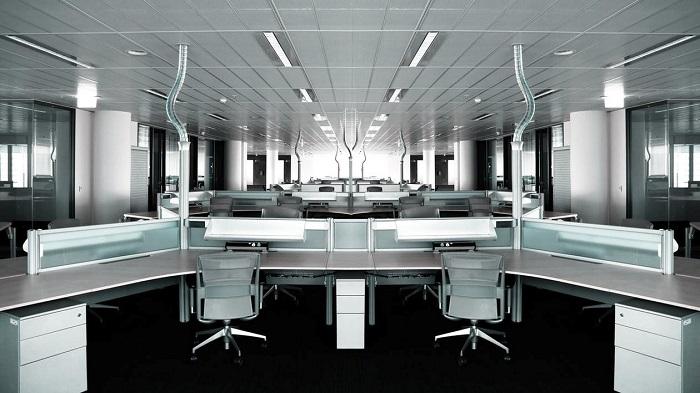 طراحی یک پارتیشن اداری مدرن