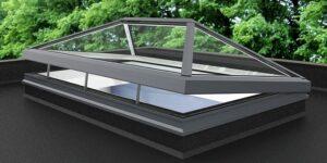سقف شیشه ای اسکای لایت - نورگیر سقفی شیشه ای - سقف شیشه ای