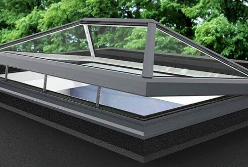 انواع شیشه در سقف شیشه ای اسکای لایت