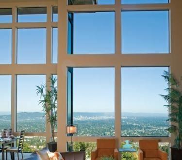 پنجره آلومینیومی تک جداره