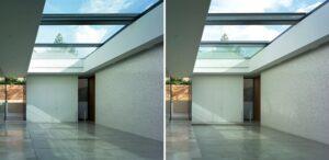 سیستم سقف های شیشه ای - مجری نمای ساختمان - نمای اسکای لایت