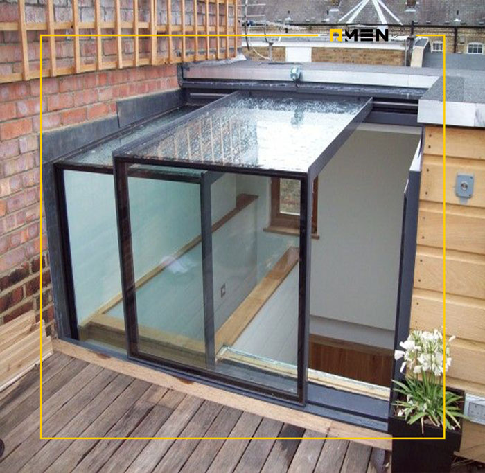 سیستم اسکای لایت - سقف شیشه ای متحرک -