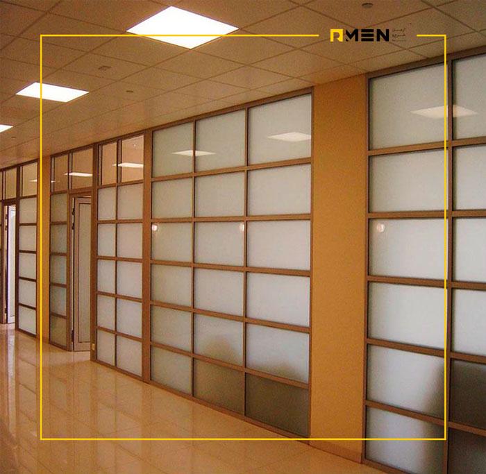 پارتیشن اداری چوبی - سیستم نمای ساختمان