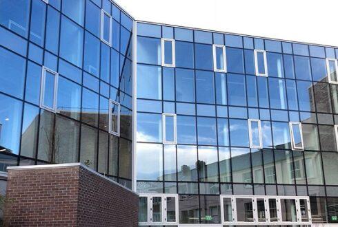 سقف شیشه ای کرتین وال