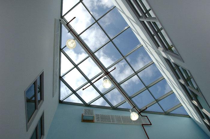 سقف شیشه ای کرتین وال،کرتین وال